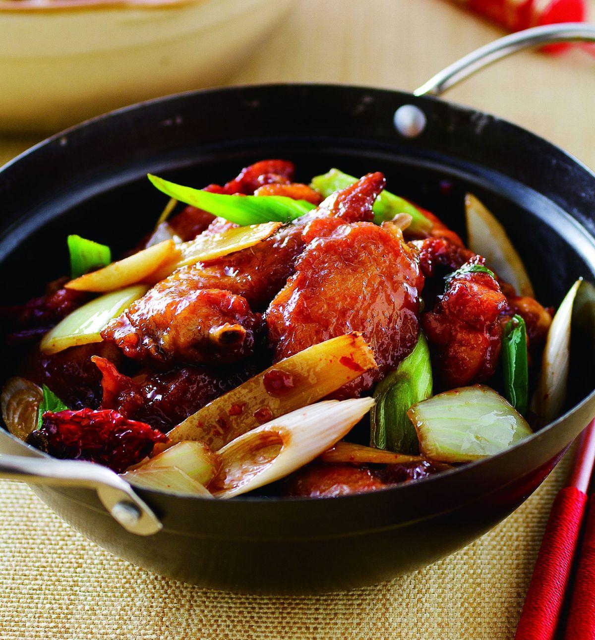 食譜:乾鍋雞(1)