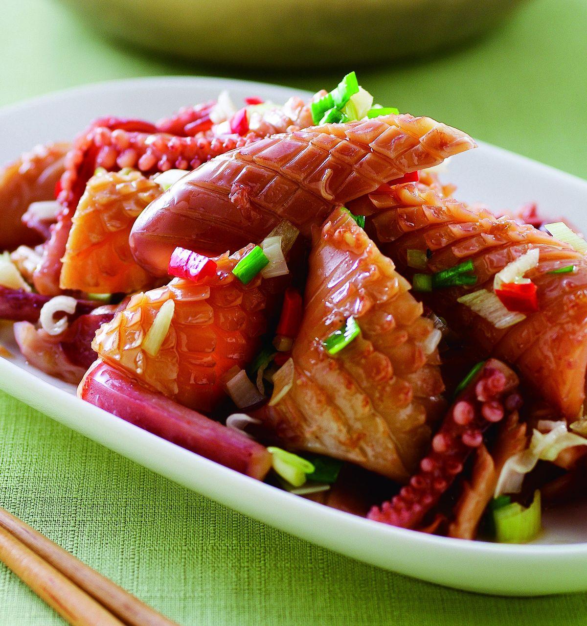 食譜:椒鹽土魷