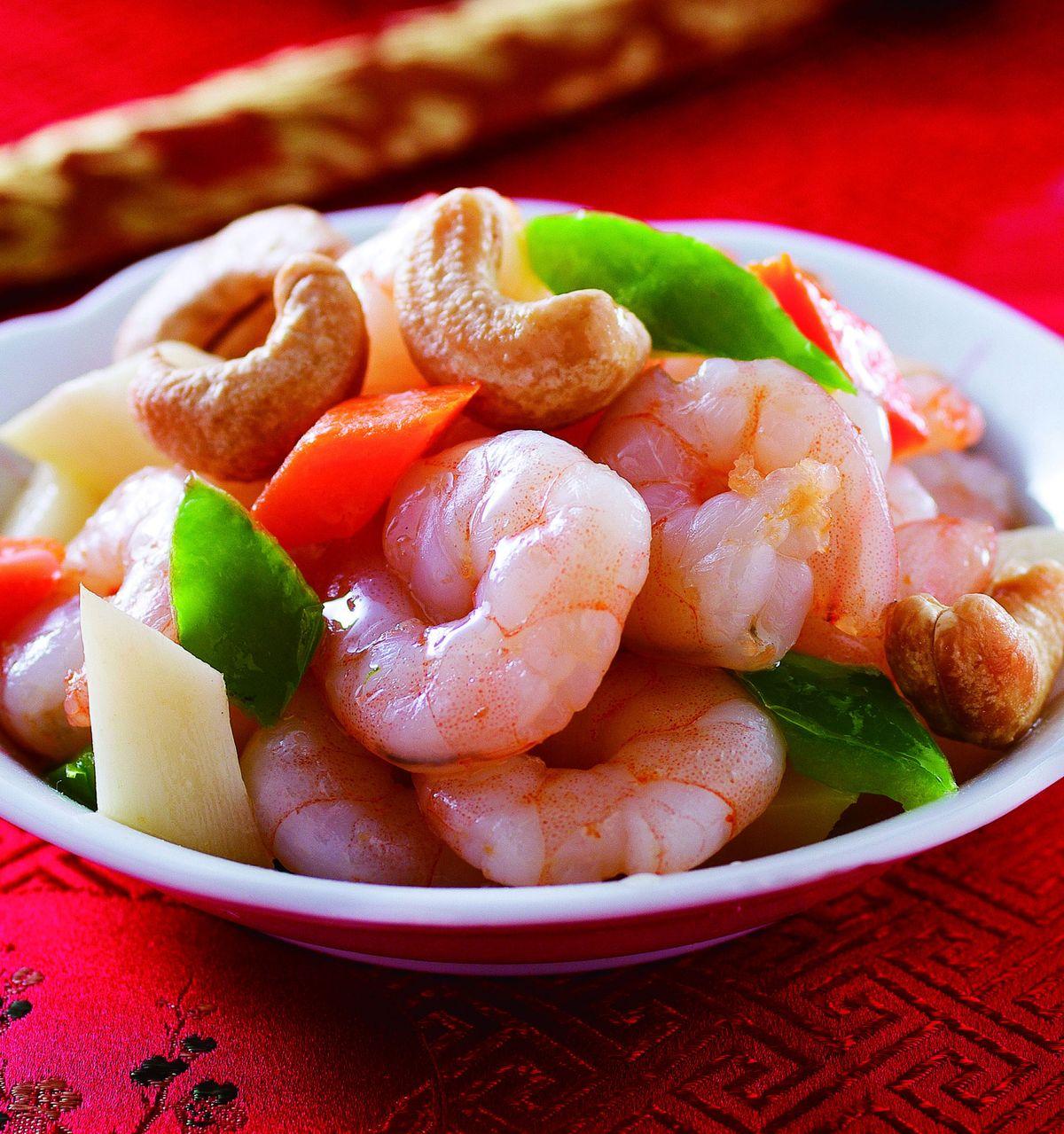 食譜:腰果蝦仁(2)