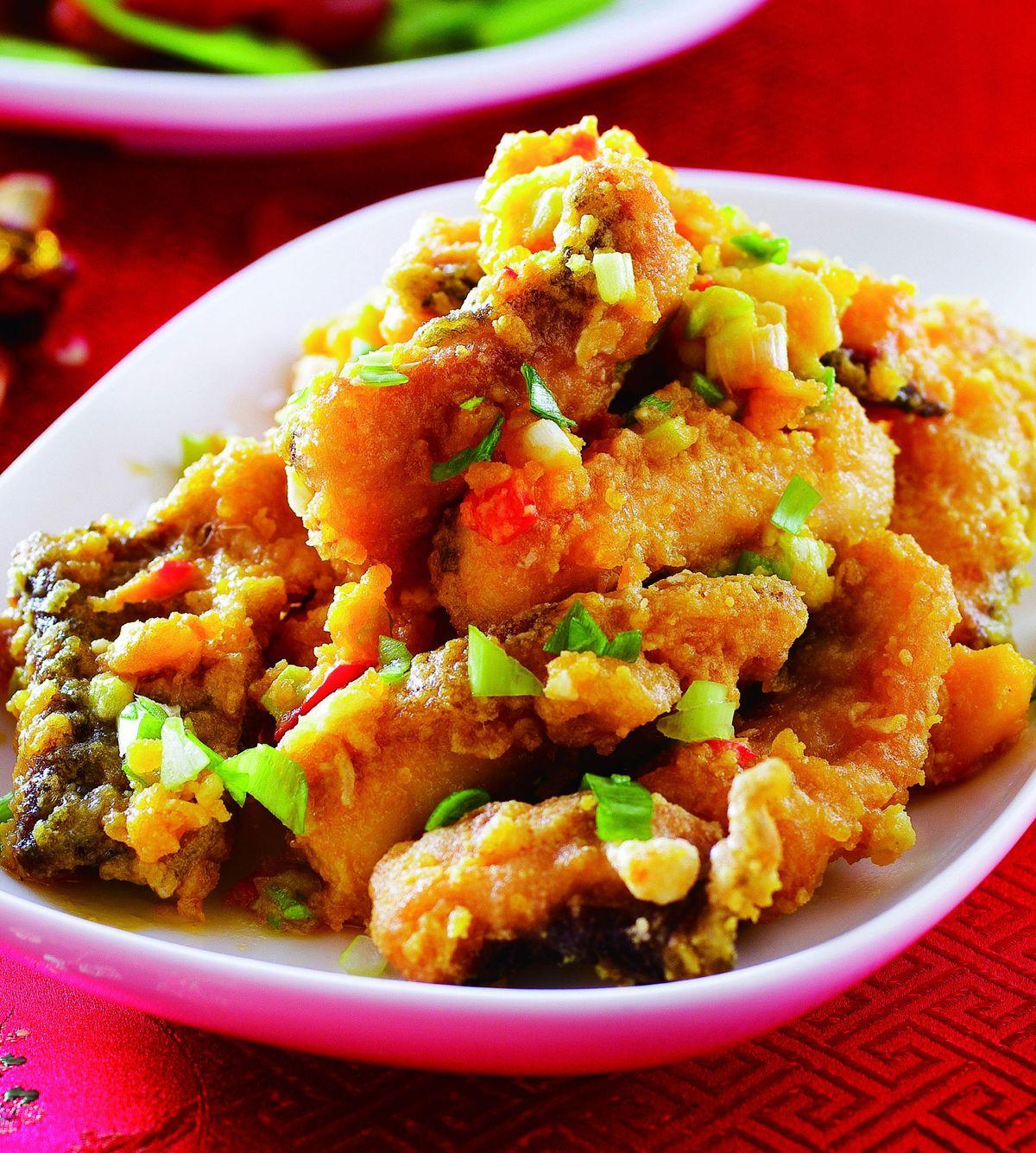 食譜:金沙魚條