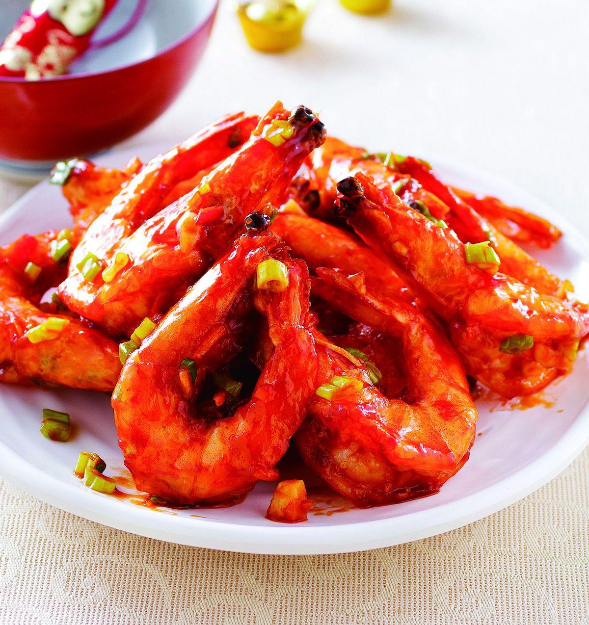 食譜:乾燒大蝦
