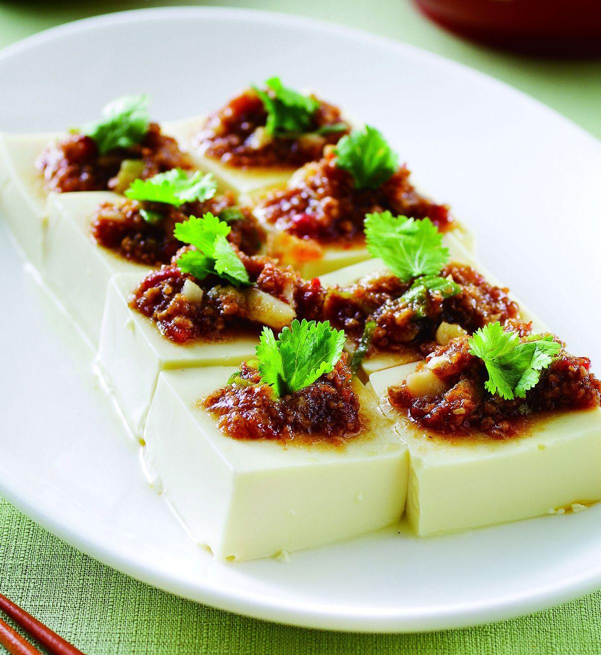 食譜:豆酥蛋豆腐(1)