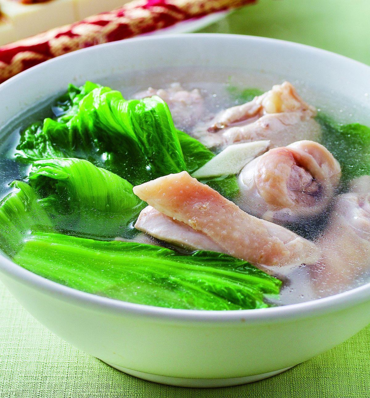食譜:芥菜雞湯(2)