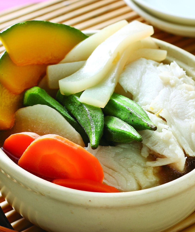 食譜:和風養生鱈魚鍋