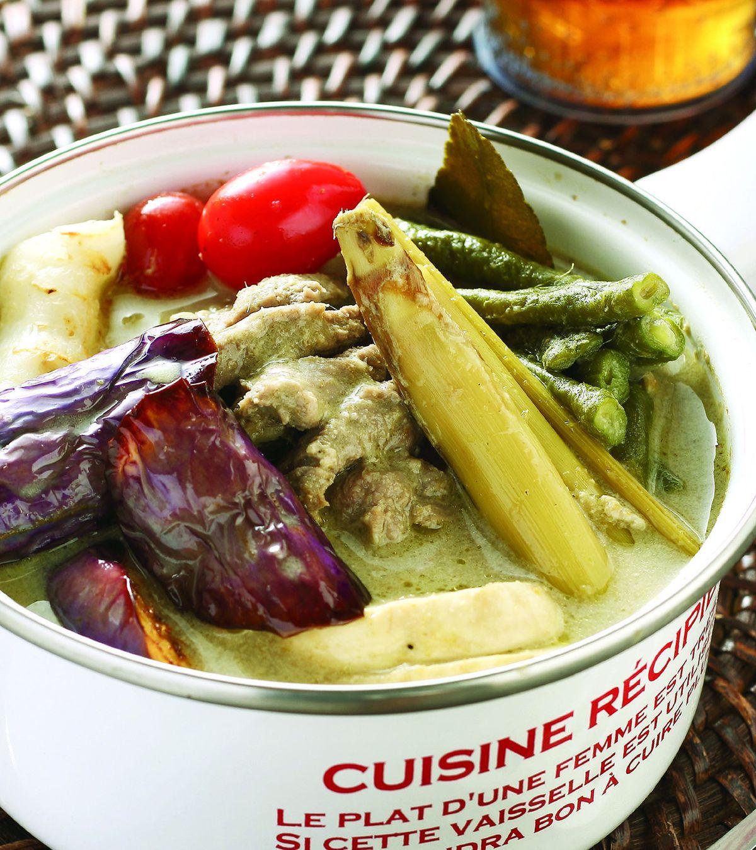 食譜:泰式咖哩牛肉鍋