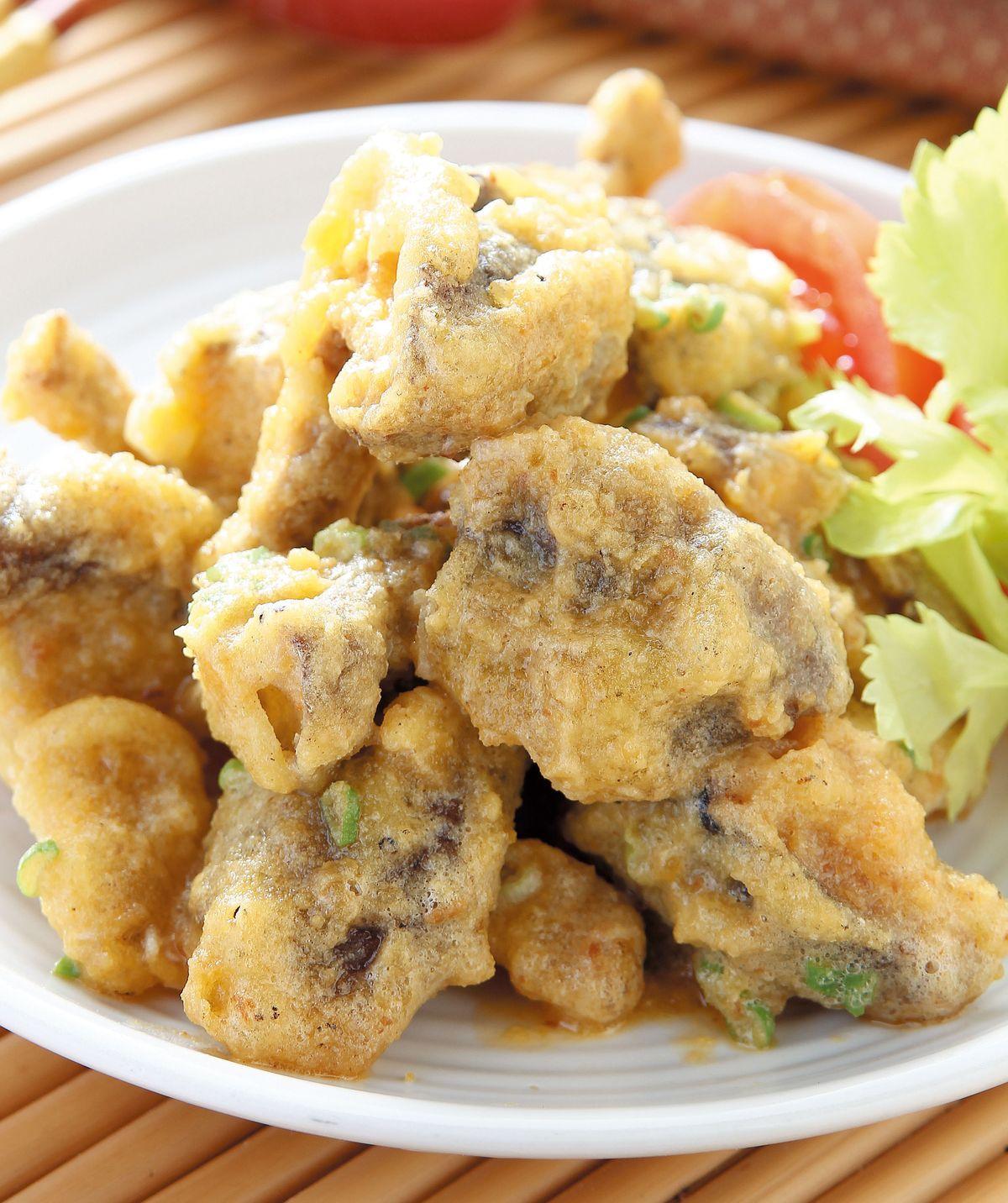 食譜:金沙香菇