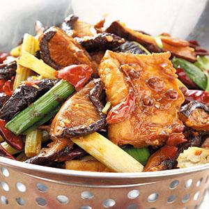 乾鍋香菇豆腐煲