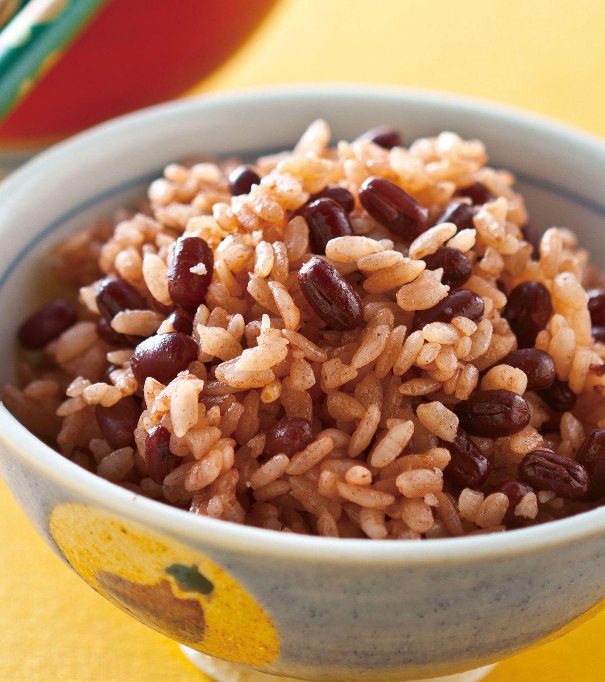 食譜:紅豆飯(3)