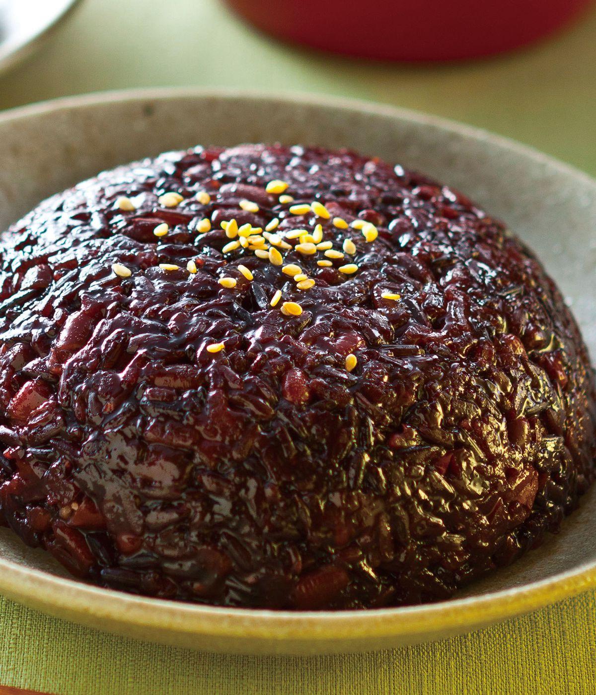 食譜:紅豆紫米糕