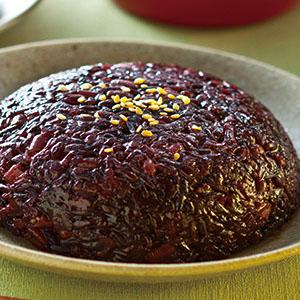紅豆紫米糕