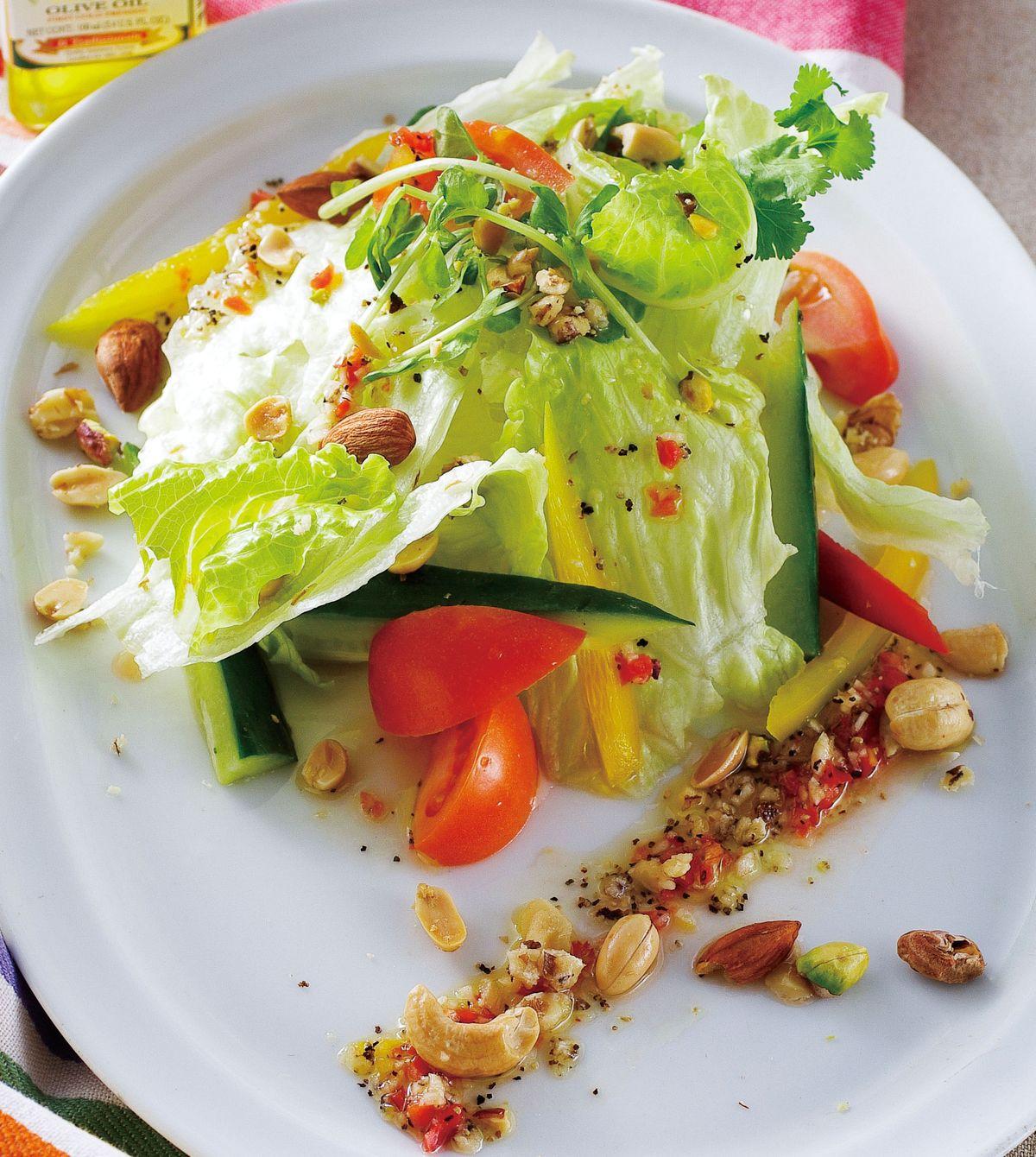 食譜:綜合堅果沙拉