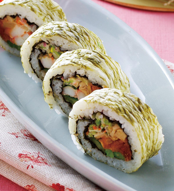 食譜:特製花壽司