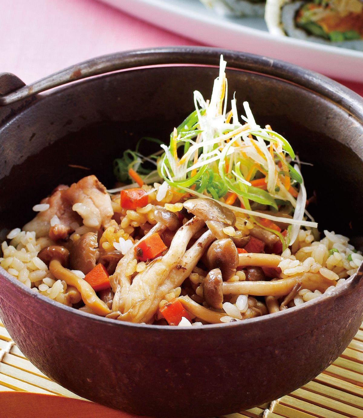 食譜:鄉風鮮菇里肌炊飯