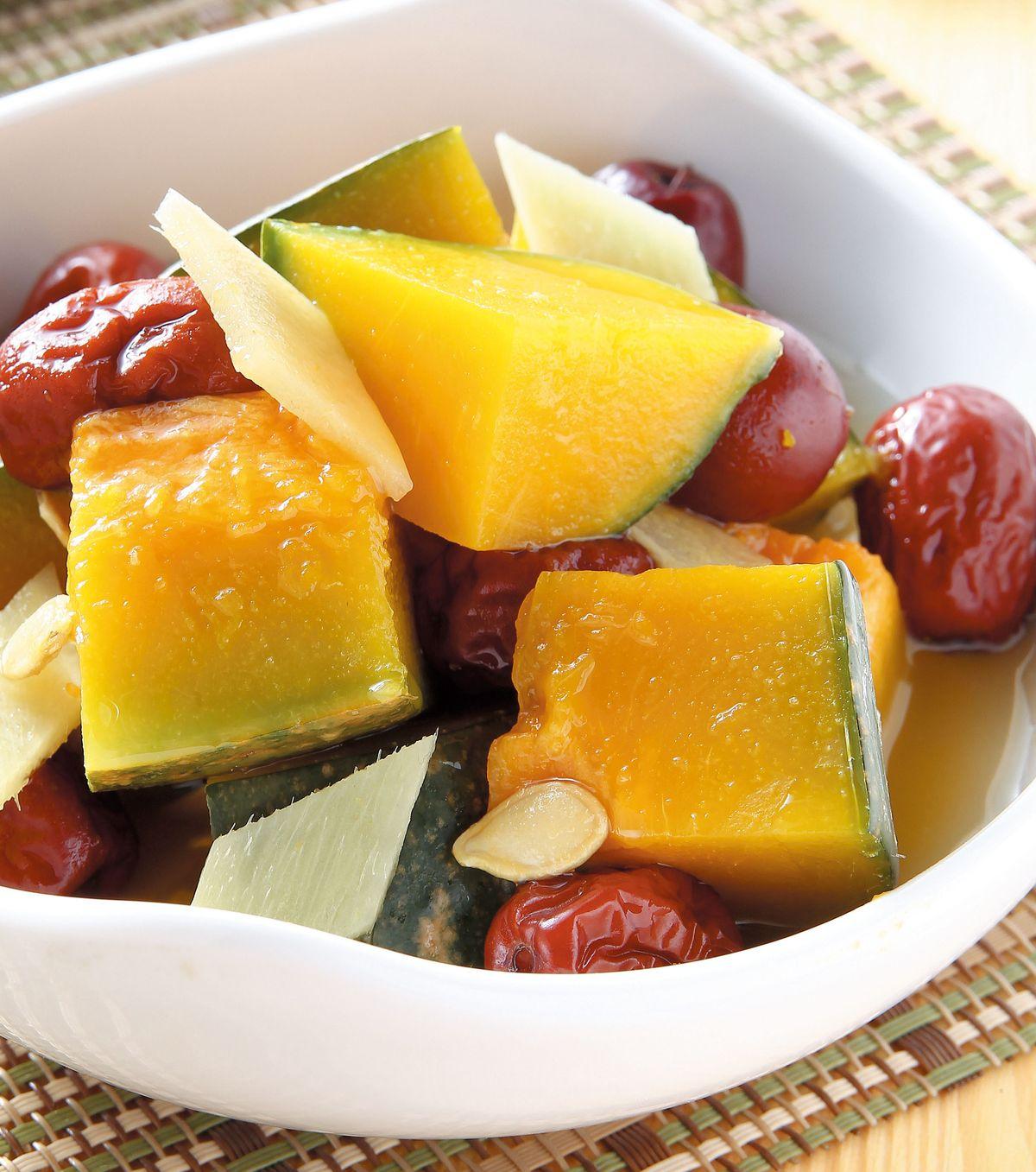 食譜:紅棗燉南瓜(2)