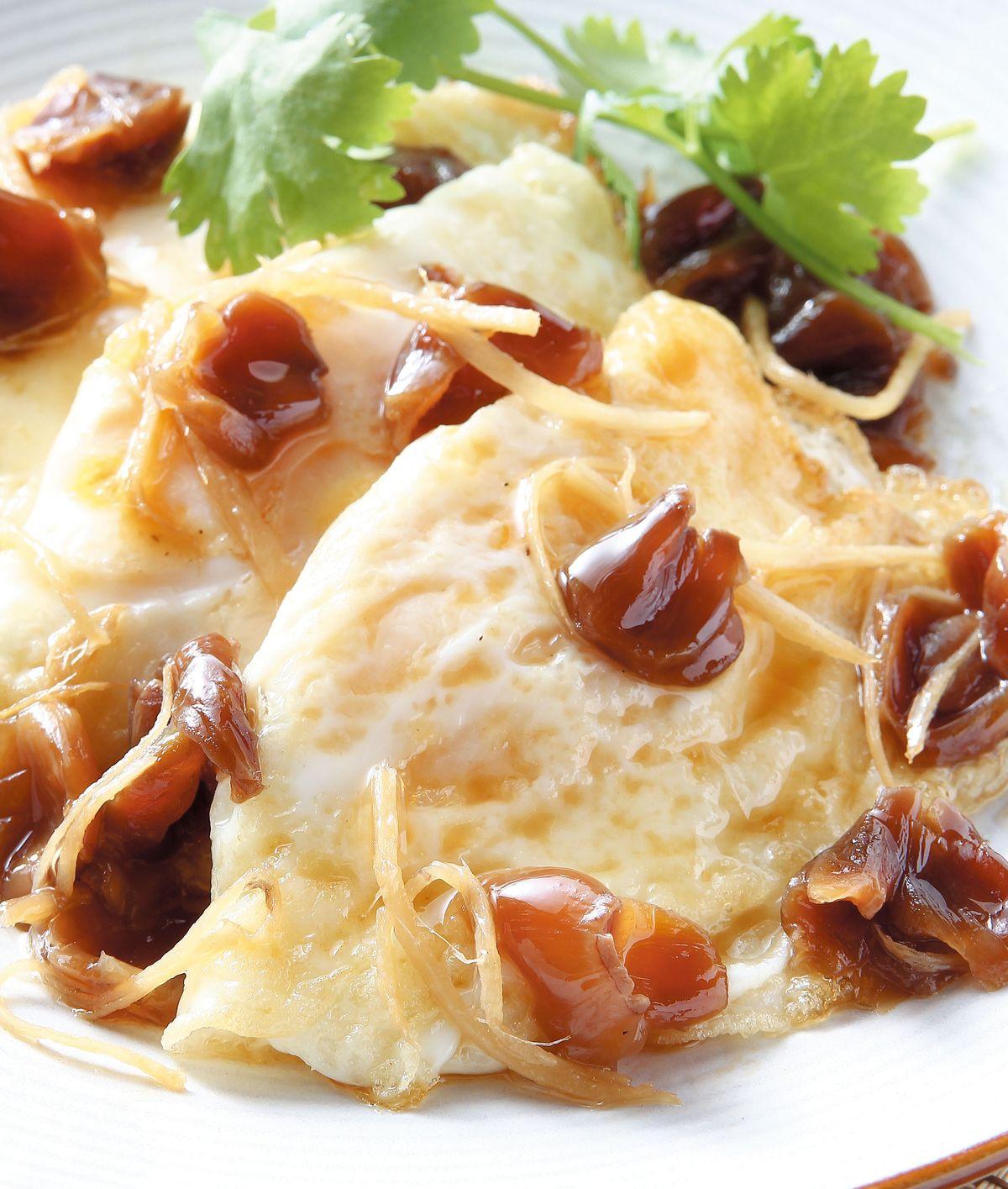 食譜:麻油桂圓荷包蛋