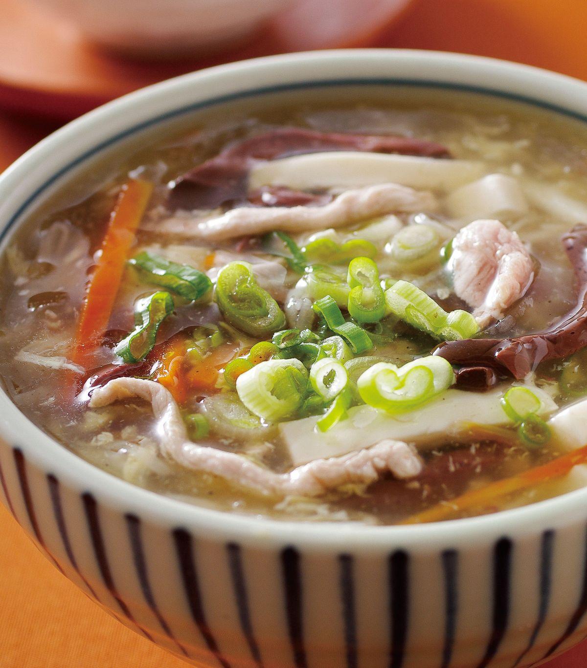 食譜:台式酸辣湯