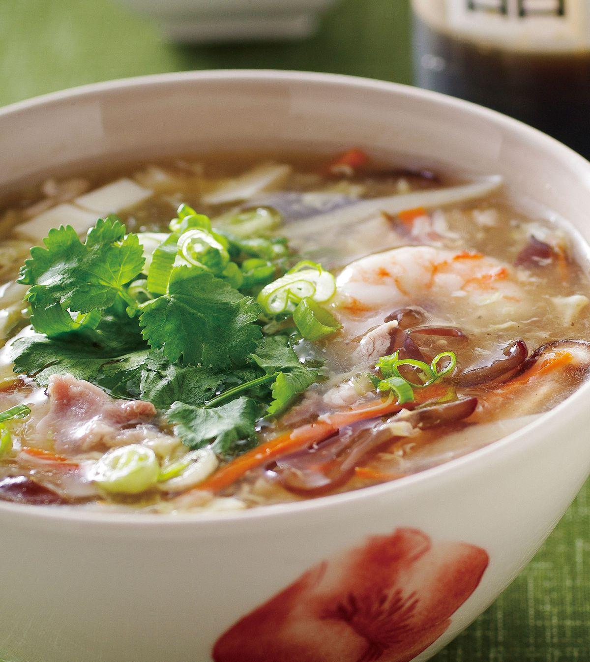 食譜:港式酸辣湯