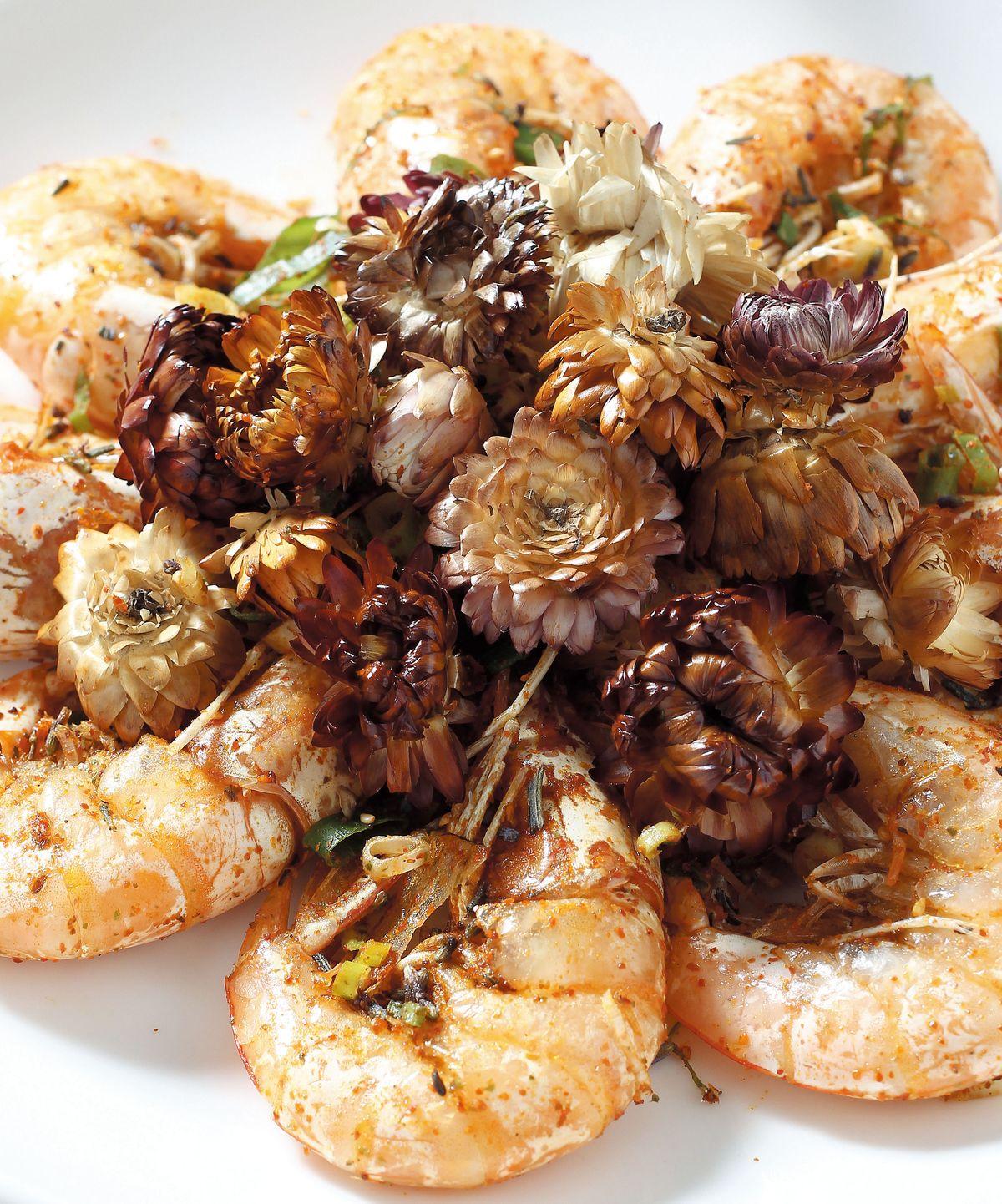 食譜:波斯薰香鑽蝦