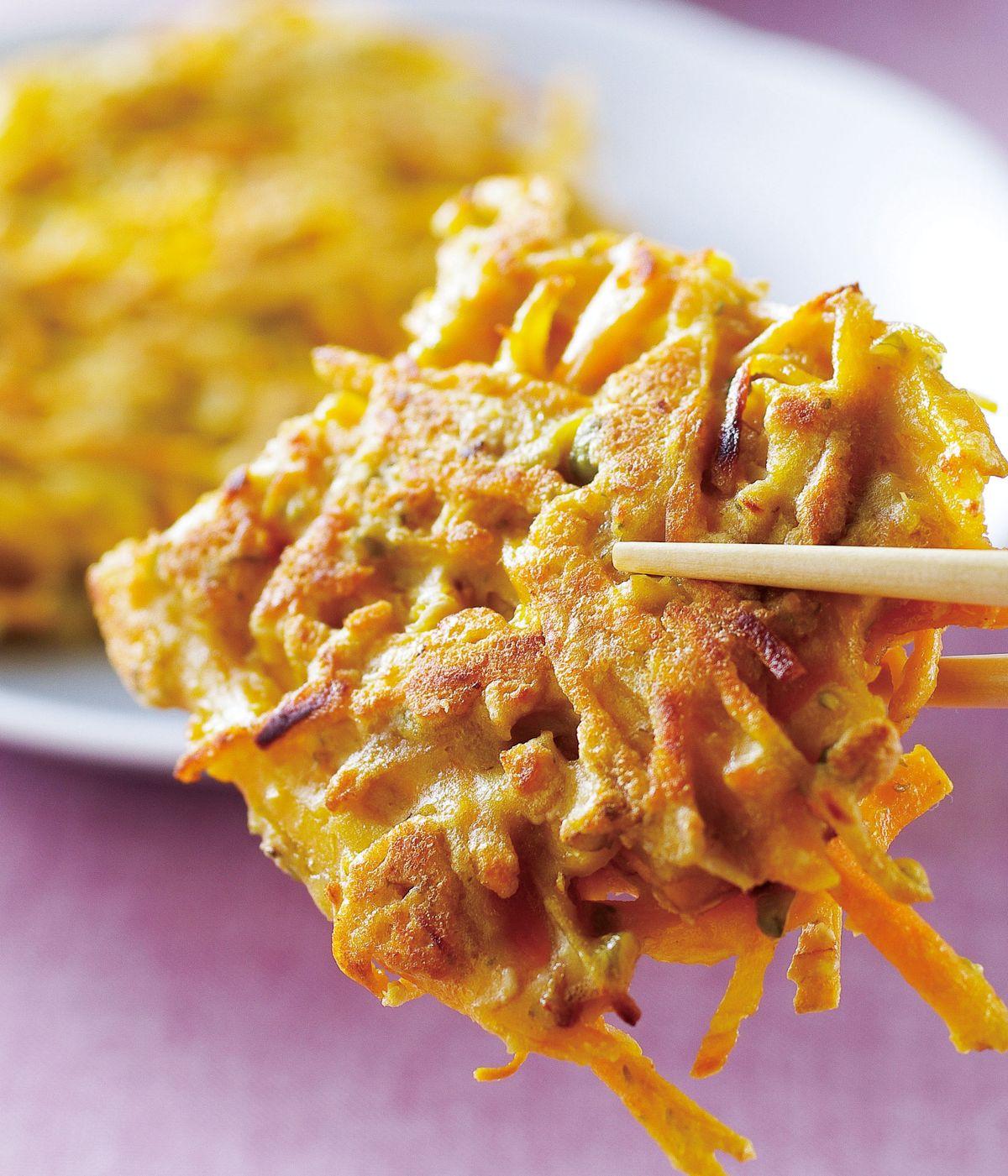食譜:五穀雜糧地瓜餅