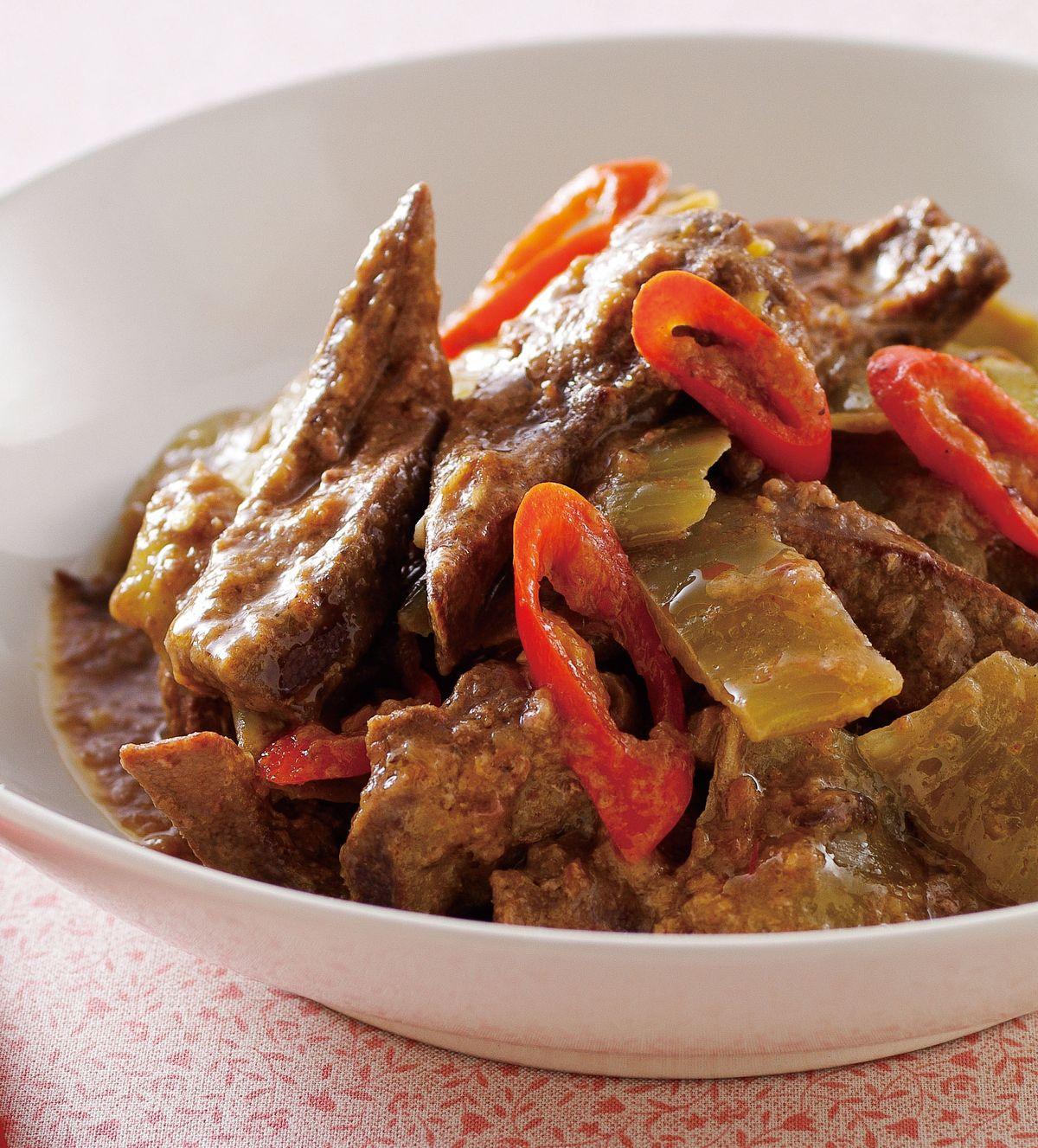 食譜:酸菜滑豬肝