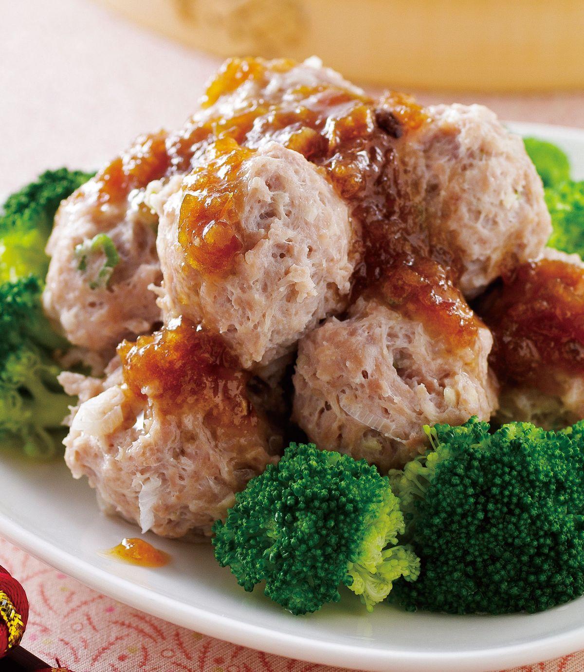 食譜:清蒸牛肉丸