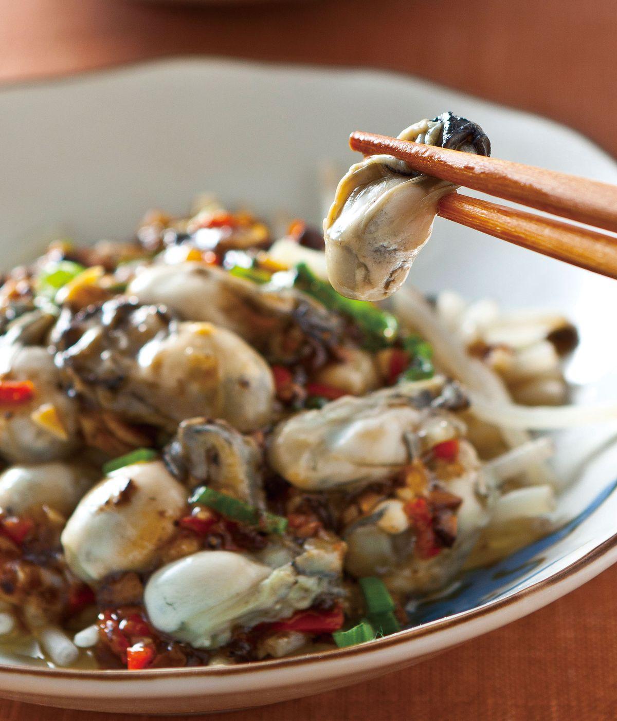 食譜:豆豉醬蒸蚵仔
