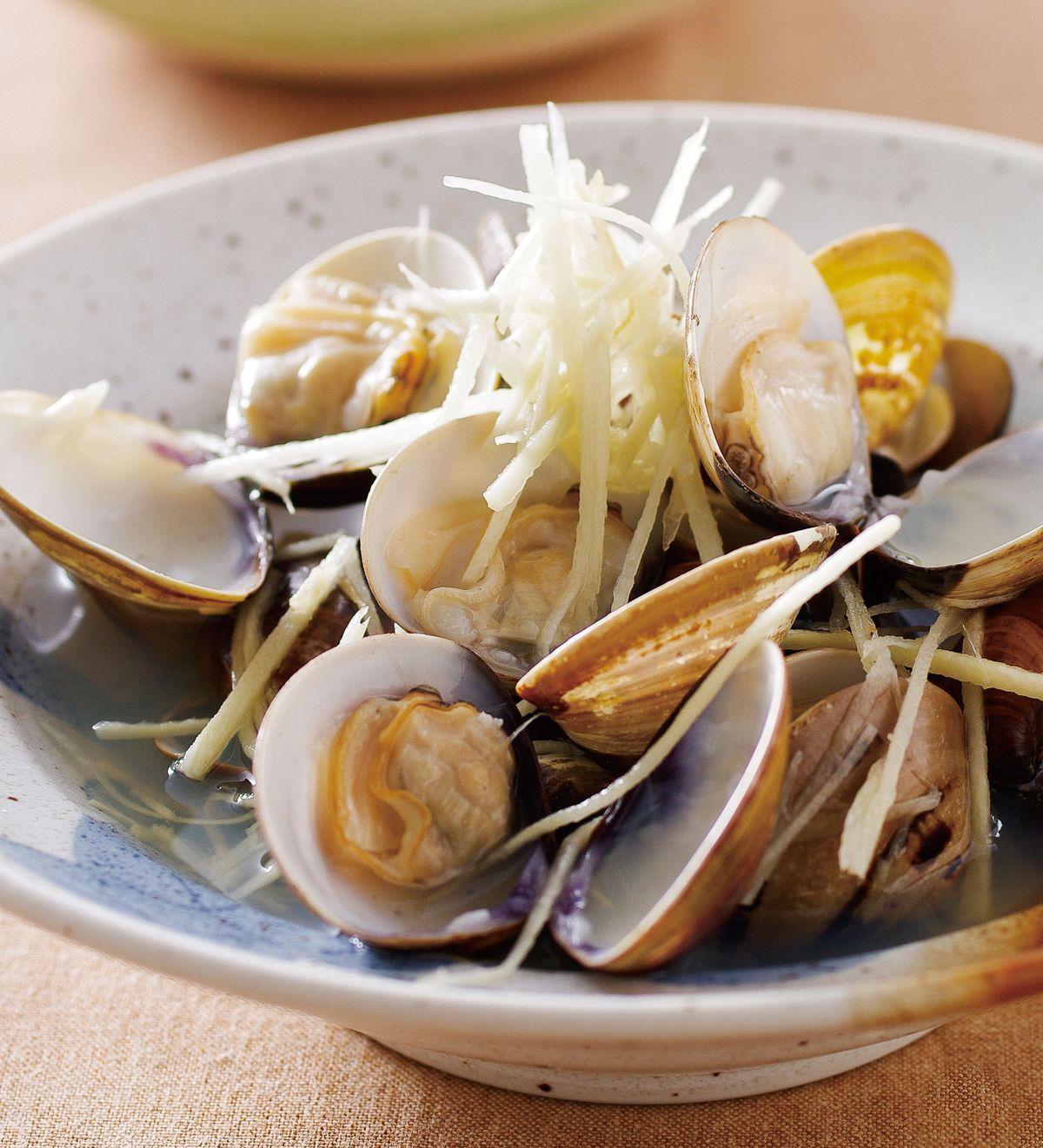 食譜:酒蒸蛤蜊(1)