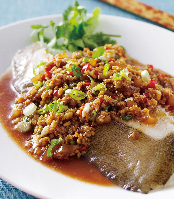 食譜:香蒜蒸鱈魚
