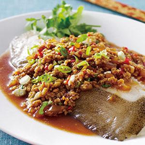 香蒜蒸鱈魚