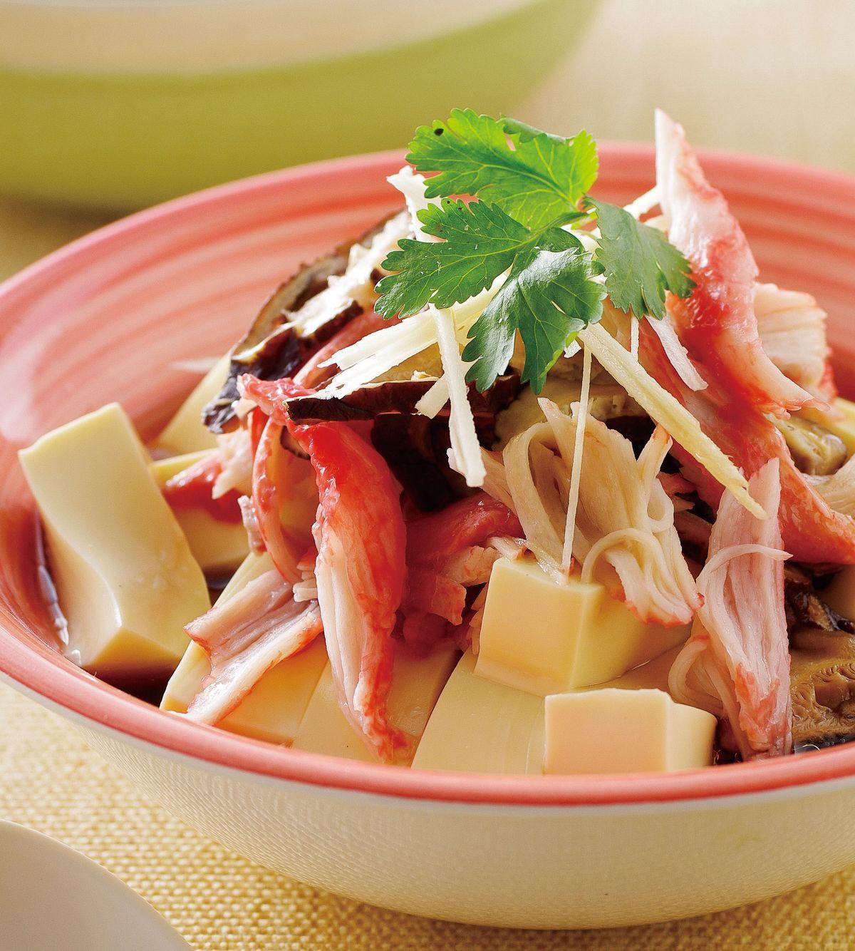 食譜:蟹肉蛋豆腐