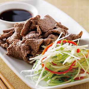 白灼牛肉(1)