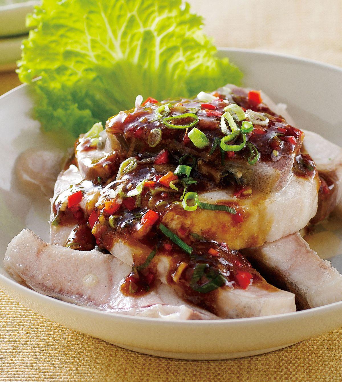 食譜:蒜泥魚片(2)
