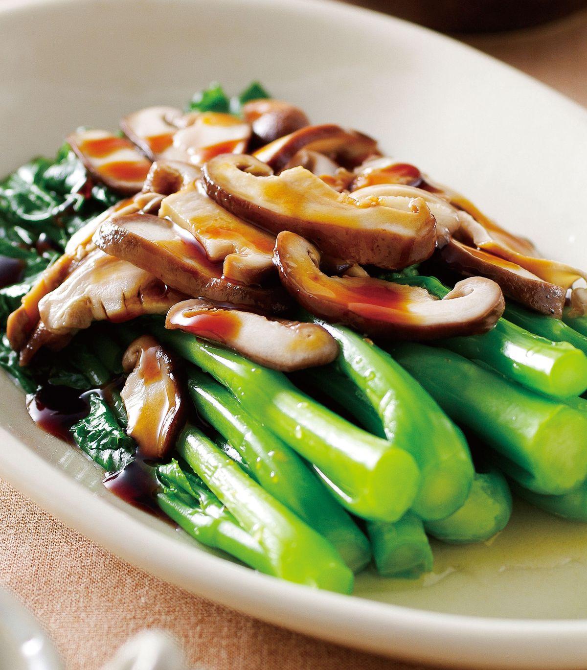 食譜:蠔油芥藍(1)