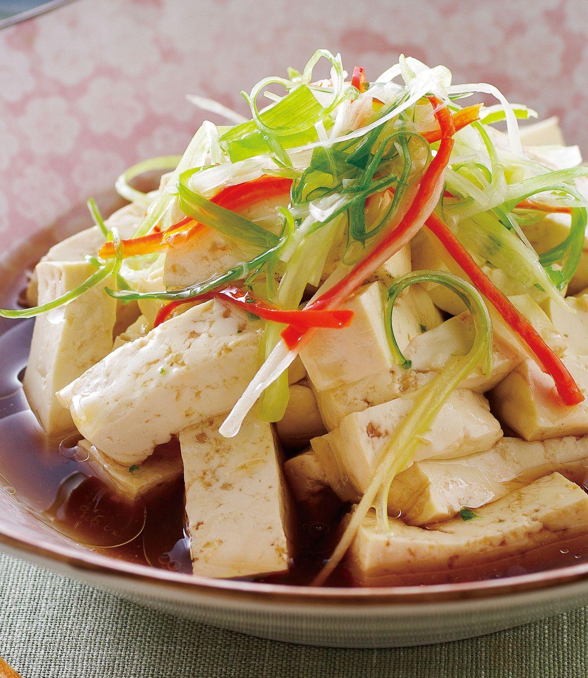 食譜:蔥油豆腐(2)