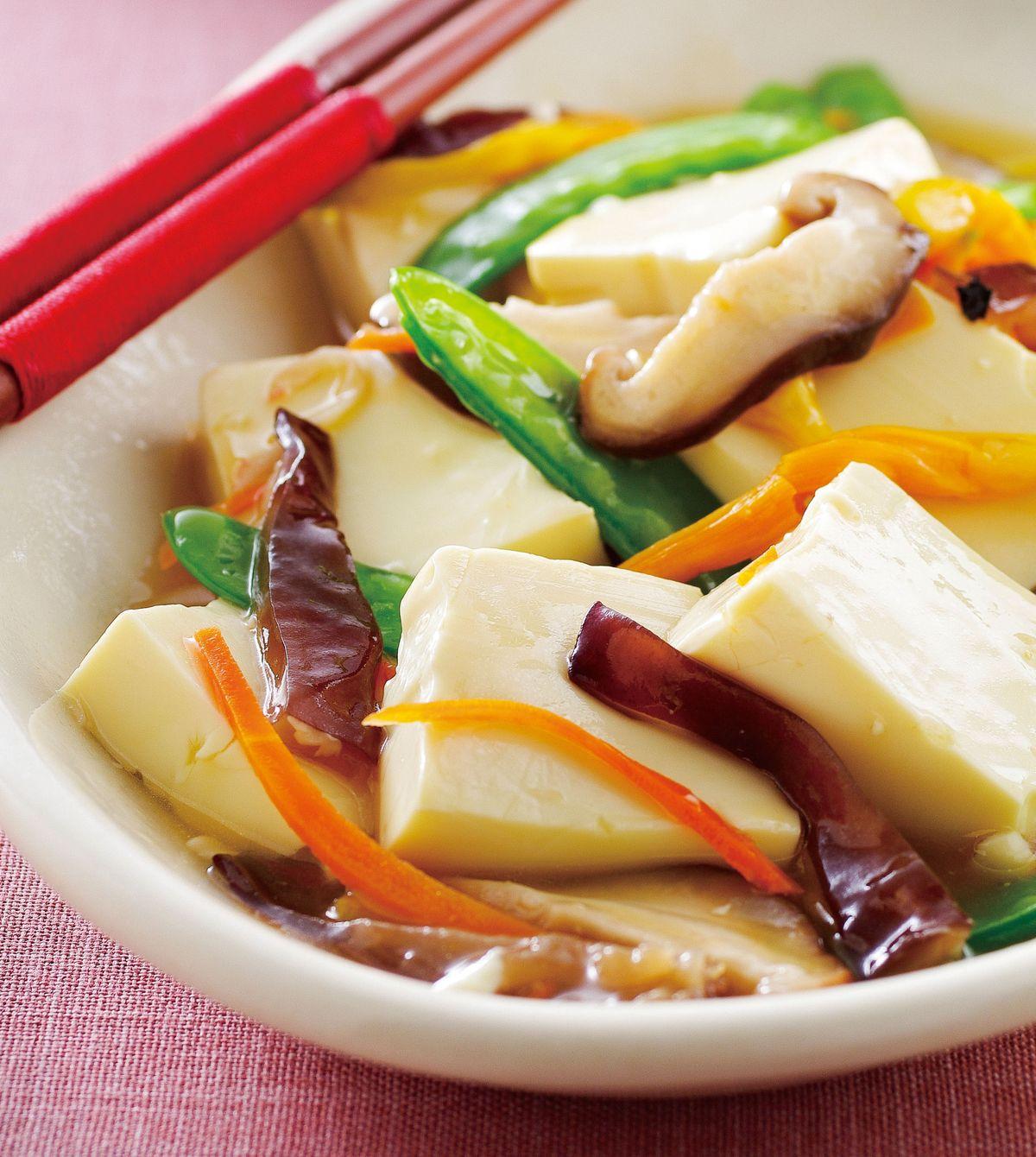 食譜:羅漢豆腐