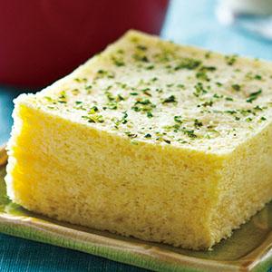 豆漿蒸蛋糕