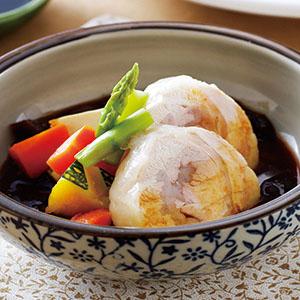 嫩雞豆腐味噌燒