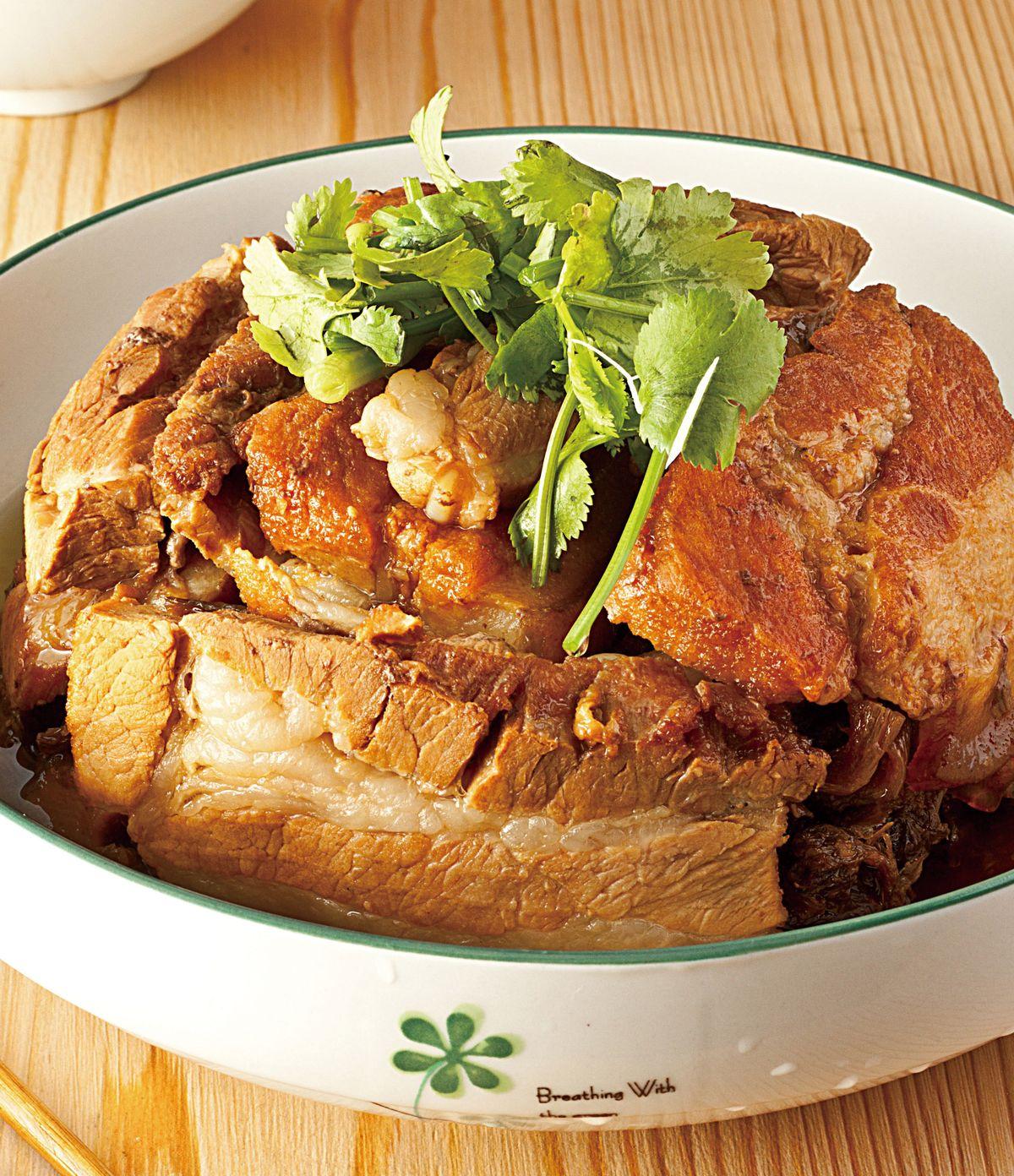 食譜:梅干扣肉(10)