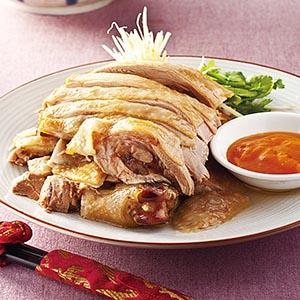 桔醬白斬雞(1)