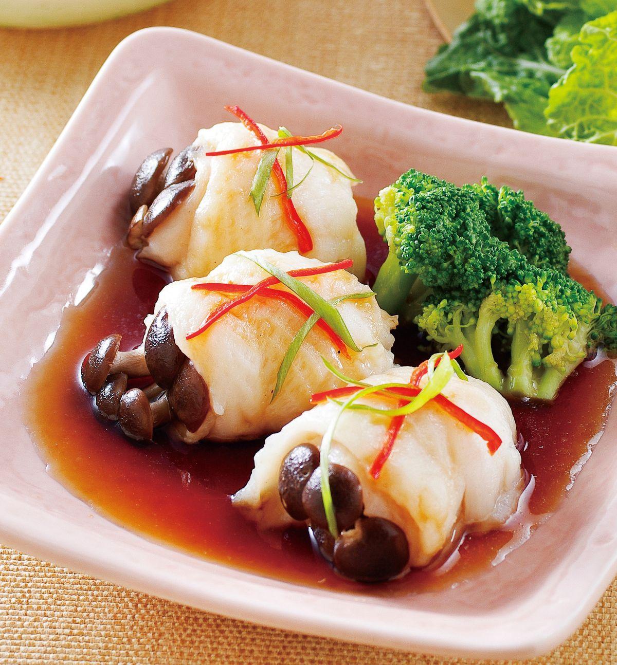 食譜:鮮露花魚捲