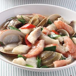 三鮮燴魚片