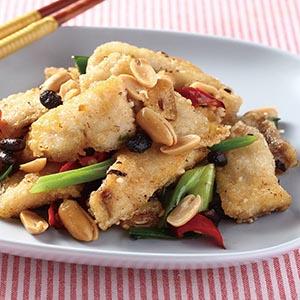 避風塘炒魚