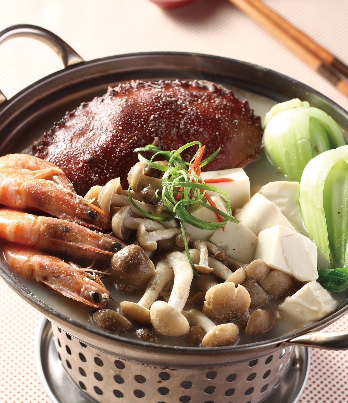 食譜:黑豆漿火鍋