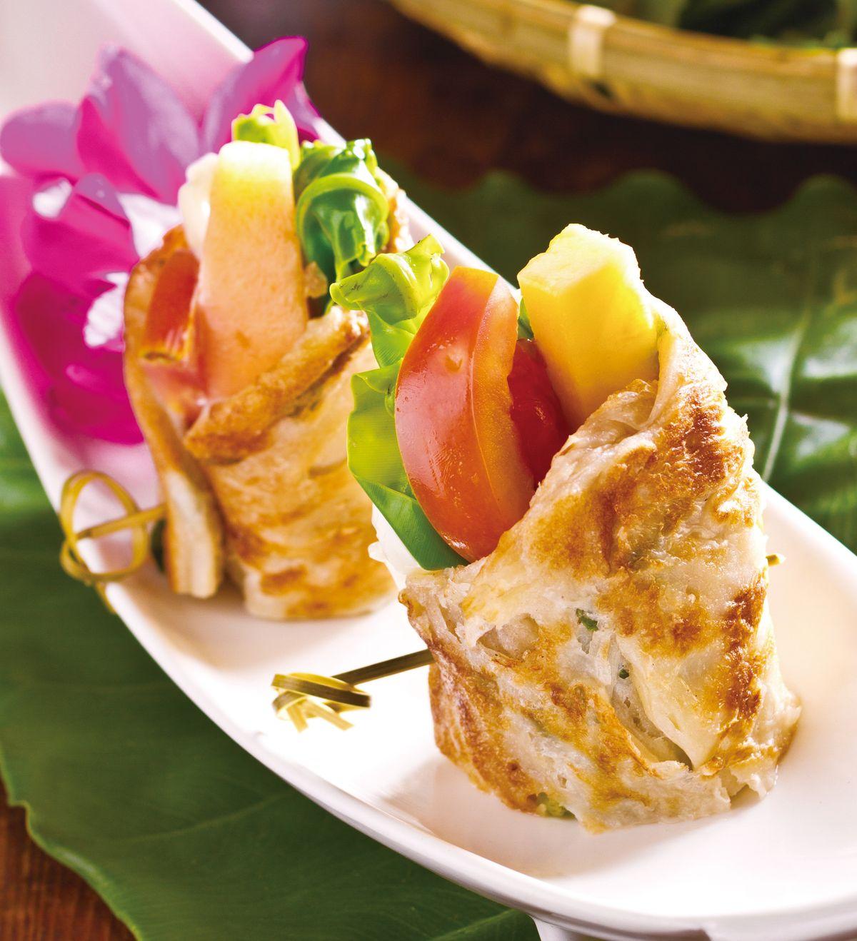 食譜:養生蔬果山蘇捲
