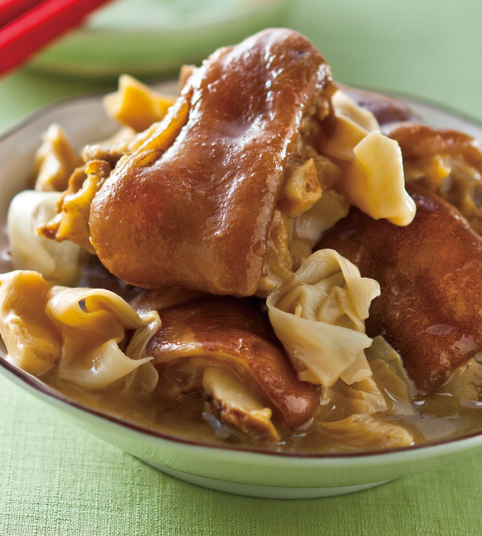 食譜:筍乾炆豬腳