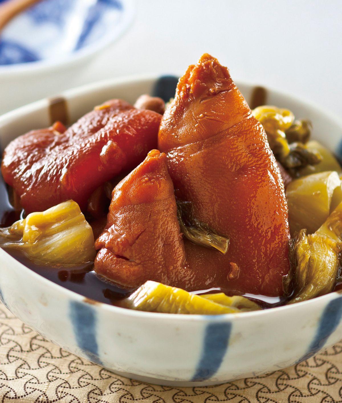 食譜:酸菜炆豬腳