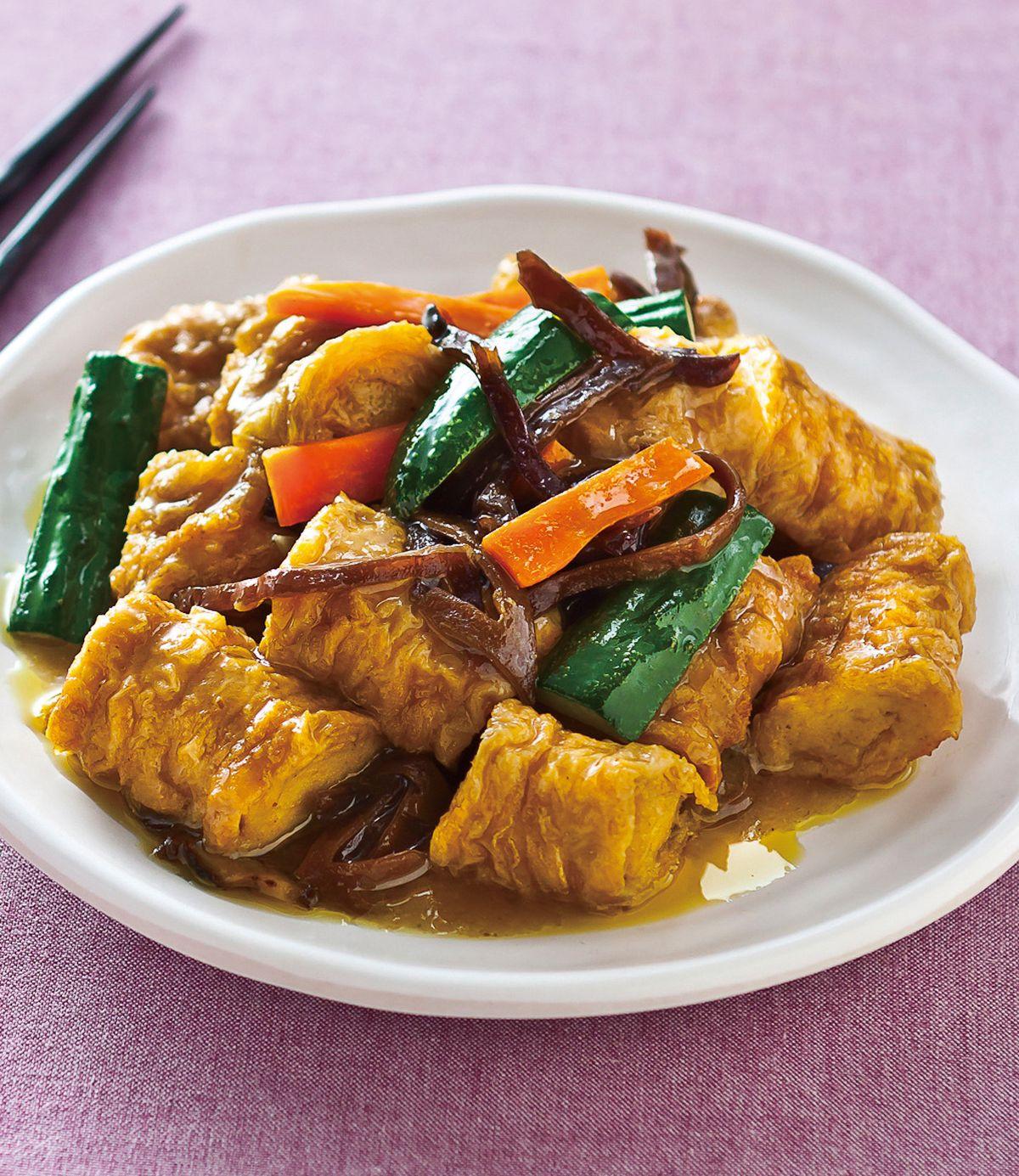 食譜:綠咖哩豆腸