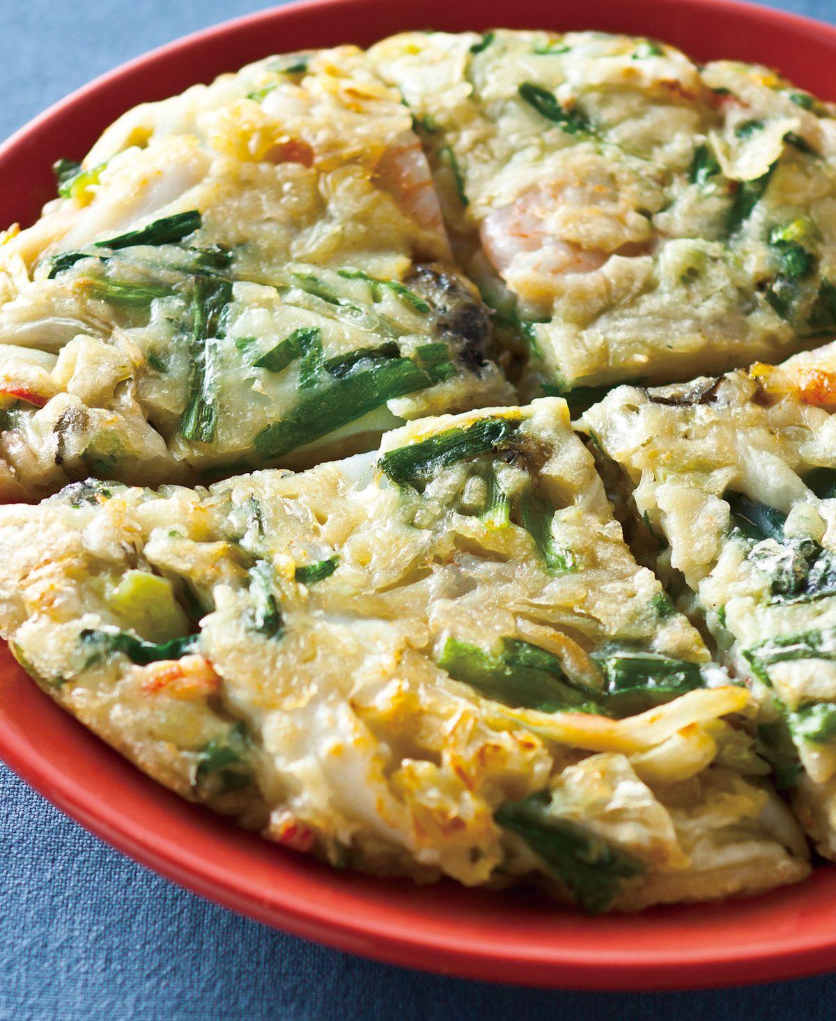 食譜:海鮮煎餅(7)