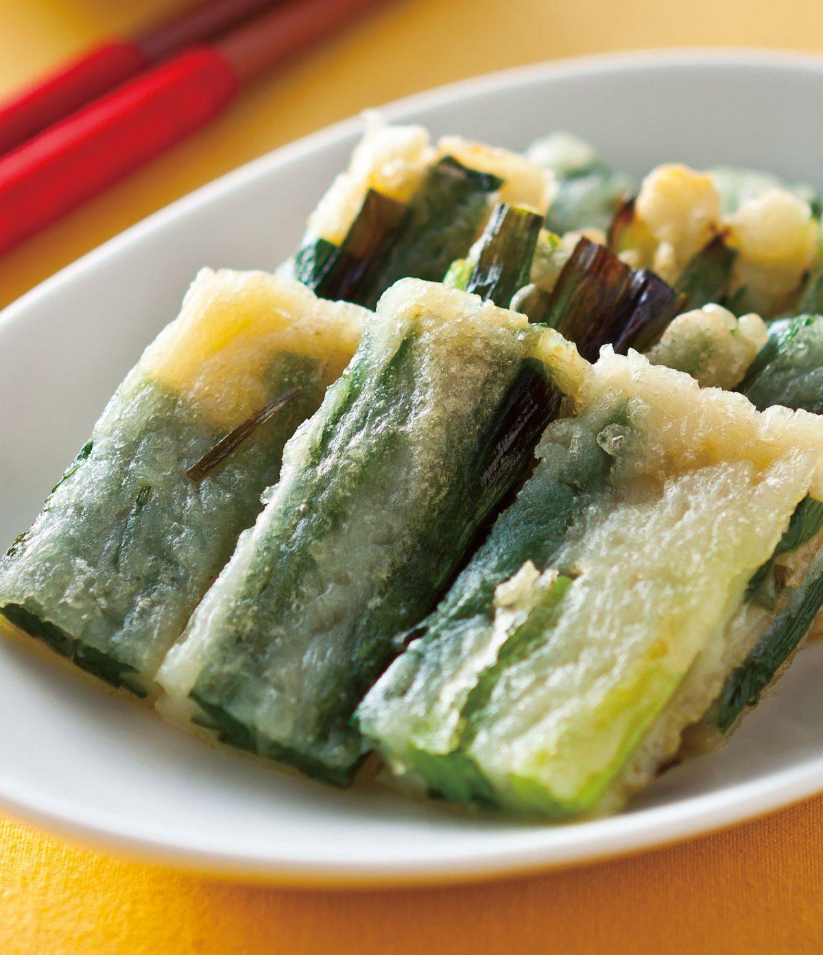 食譜:韭菜煎餅(1)