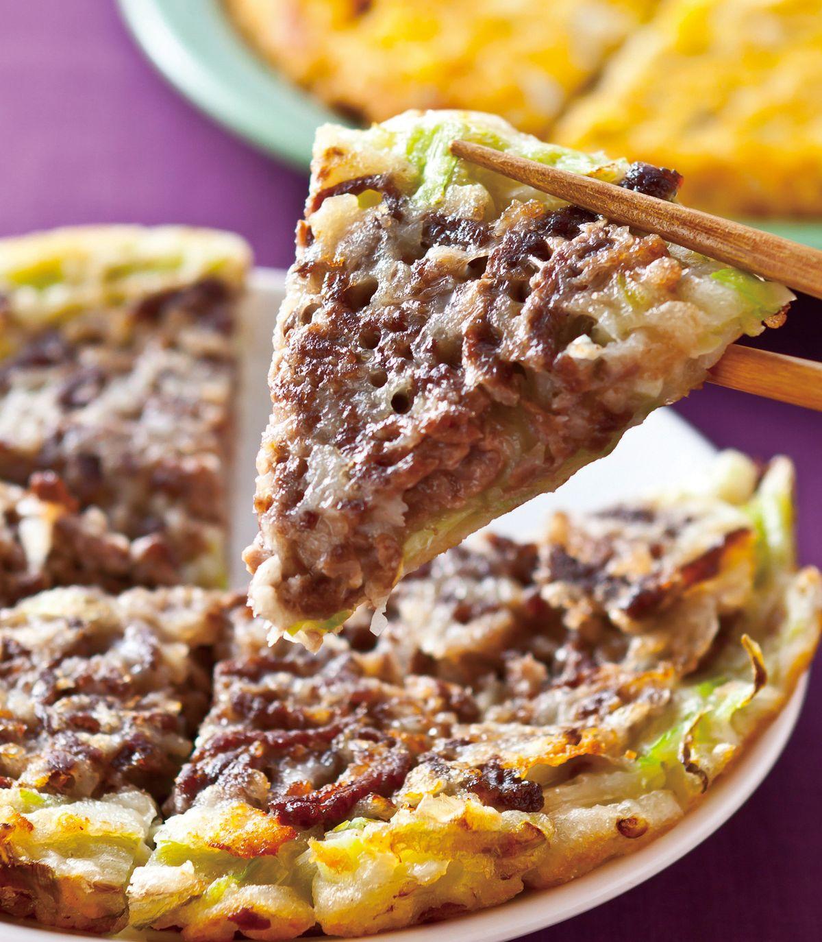 食譜:牛肉韭黃煎餅